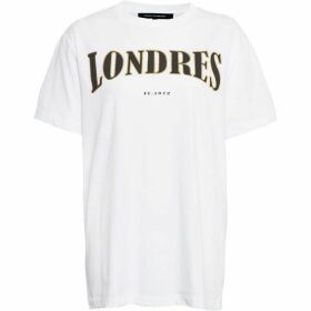 French Connection Londres Foil T-Shirt