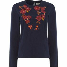 People Tree Rhiannon Embroidered Top