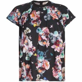 Yumi Midnight Botanical Top