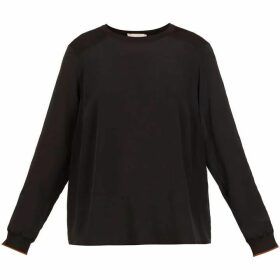 Ted Baker Llilyy Knit Silk Woven Top