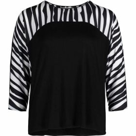 Betty Barclay Zebra Stripe Top