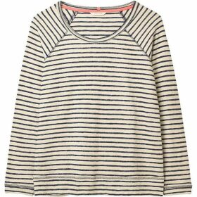 White Stuff Sally Stripe Jersey Sweat
