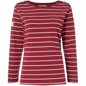 Brakeburn BELLA CREW NECK STRIPED TOP
