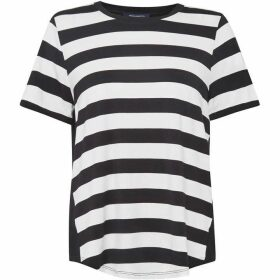 French Connection Briant Stripe Blocked Jersey T-Shirt