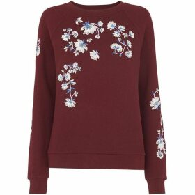 Whistles Sienna Embroidered Sweater