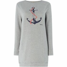 Barbour Lifestyle Frinton Longline Anchor Sweater
