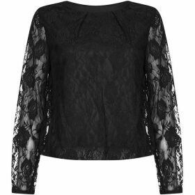 Mela Floral Rose Lace Top