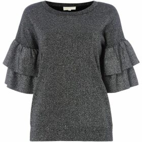 MICHAEL Michael Kors Double ruffle sweater