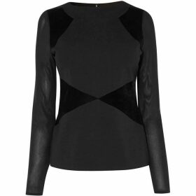 Karen Millen Panelled Top