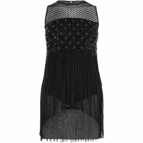 Karen Millen Embellished Fringed Top
