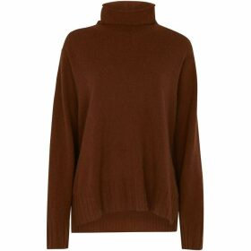 Whistles Cashmere Funnel Neck Sweater