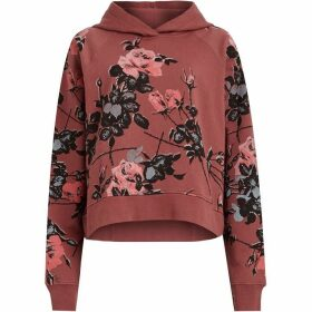 All Saints Rhosyn Crop Hoody