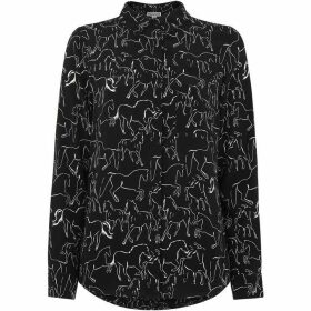 Whistles Stallion Print Pocket Shirt