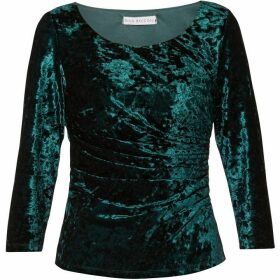 Gina Bacconi Mila Crushed Velvet Top