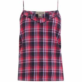 Oasis Brushed Check Cami