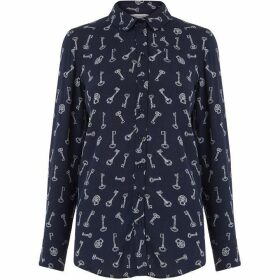 Warehouse Key Print Shirt