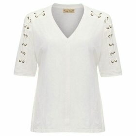 Phase Eight Jocelyn Eyelet Top