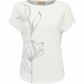 Phase Eight Lauralee Flocked T-Shirt