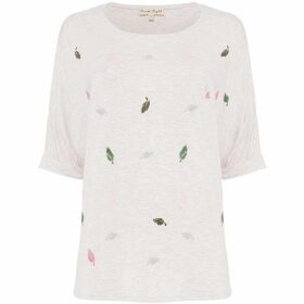 Phase Eight Laurella Leaf T-Shirt