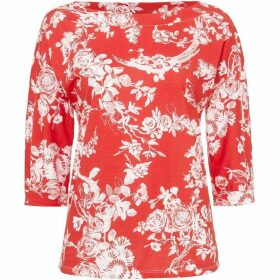 Phase Eight Toile De Jouy Print Top