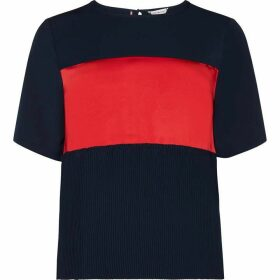 Tommy Hilfiger Frances Pleat Top