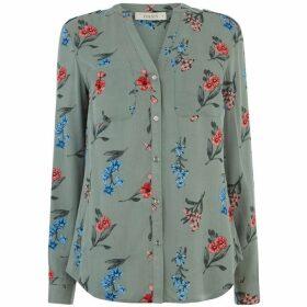 Oasis Camella Floral Print Shirt