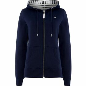Crew Clothing Company Zip Through Hoody