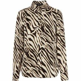 Karen Millen Zebra Print Shirt