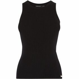 Karen Millen Ribbed Tank Top