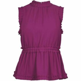 Ted Baker Brayla Tie Waist Pleated Top