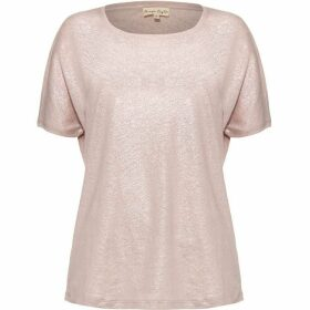 Phase Eight Lara Linen Foil T-Shirt