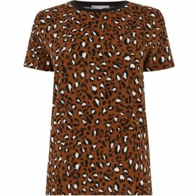 Warehouse Leopard Print T-Shirt