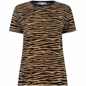 Warehouse Tiger Print T-Shirt