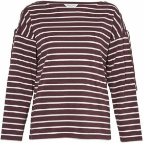 Great Plains Lace Up Stripe Top