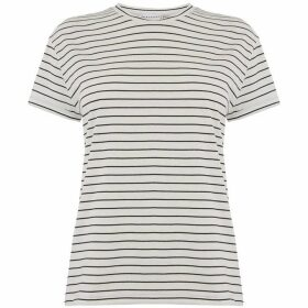 Warehouse Stripe Casual T-Shirt