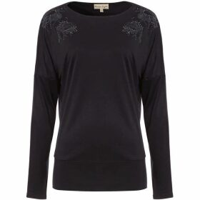 Phase Eight Edith Embroidered Top