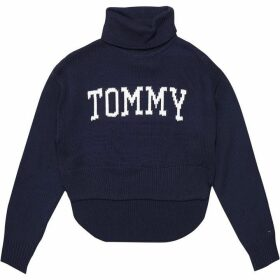 Tommy Jeans Cropped Knit Sweater