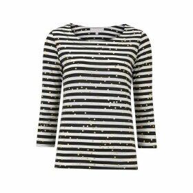 Havren Lois Stripe Tee Shirt