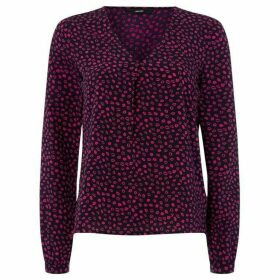 Vero Moda Long Sleeve Kiss Print Shirt