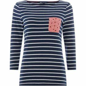 Crew Clothing Company Pocket Breton T-Shirt