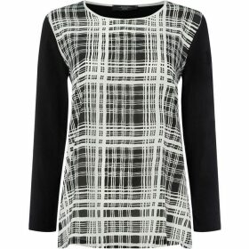 Max Mara Weekend Unito long sleeve checked top
