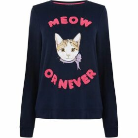 Oasis Meow Or Never Sweat