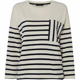 Max Mara Weekend Recital striped crew neck top