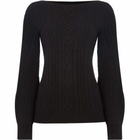 Lauren by Ralph Lauren Yorka balloon sleeve sweater