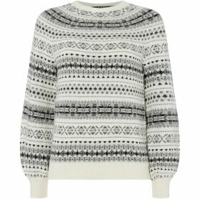 Lauren by Ralph Lauren Philantha patterned sweater