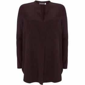 Mint Velvet Bordeaux Pocket Front Tunic