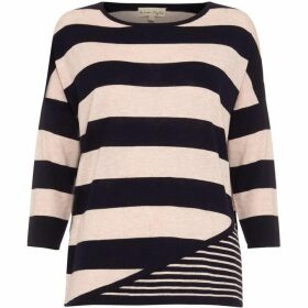 Phase Eight Devonna Mix Stripe Knit Top