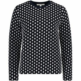 Betty Barclay Polka Dot Textured Top
