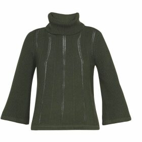 Ted Baker Roll Neck Transfer Stitch Sweater