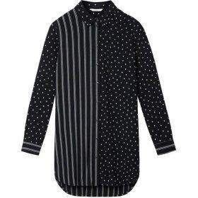 Sandwich Stripe And Polka Dot Shirt